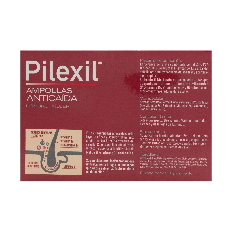 Amazon.com : Pilexil Hair Loss 20 Ampoules x 5ml - Hair Regrowth Treatment - Fight Alopecia & Strengthen Your Hair : Beauty