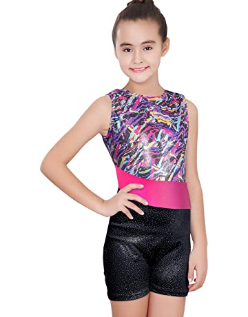 2b6eb32fa Amazon.co.uk  Leotards - Girls  Sports   Outdoors