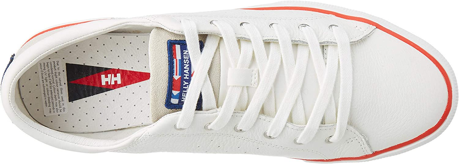 Helly-Hansen Women's Low-top Trainers White Off White Alert Red 011