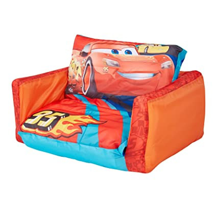 Pleasant Disney 286Caa01E Cars Flip Out Mini Sofa Home Interior And Landscaping Ologienasavecom
