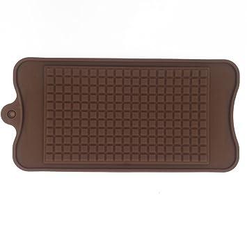 Gran barra de bloque de chocolate candy molde de silicona diseño estriado 21 x 11 x