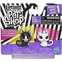 Littlest Pet Shop Miniş Siyah Beyaz Koleksiyonu İyi Dostlar - Kediler