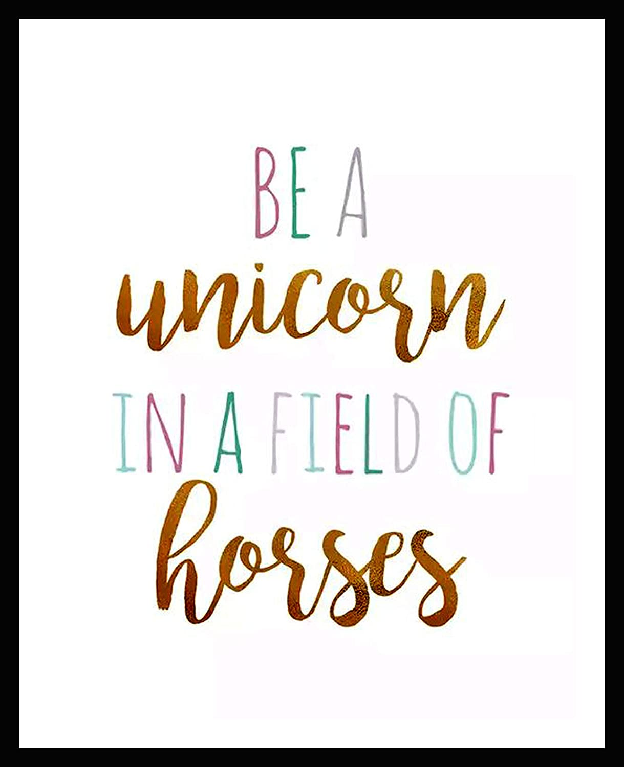 It is an image of Be a Unicorn in a Field of Horses Free Printable intended for cupcake toppers