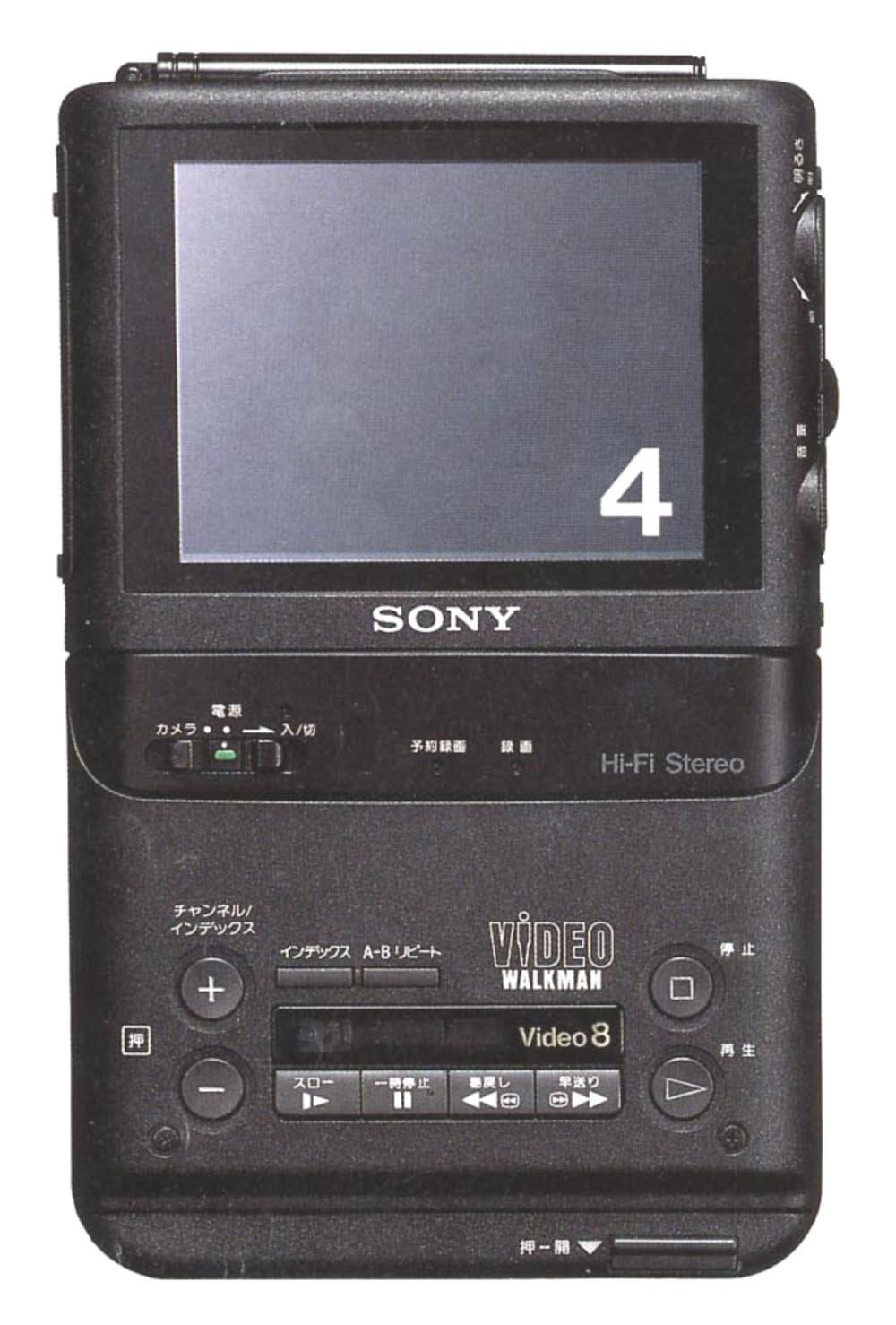 SONY GV-500 8ミリビデオウォークマン B01JIYK8E6