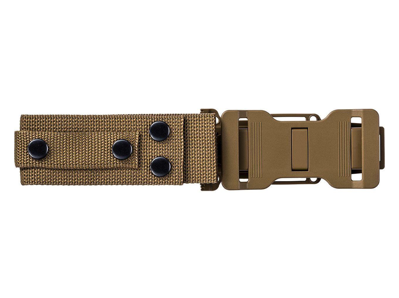 Gerber StrongArm 420 High Carbon Stainless Steel Fixed Blade Full Tang Knife with Molle Compatible Multi-Mount Sheath - Serrated Edge - Coyote Brown (30-001059) by Gerber (Image #5)