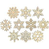 Amosfun Christmas Tree Wooden Christmas Wooden Ornamento Pendant