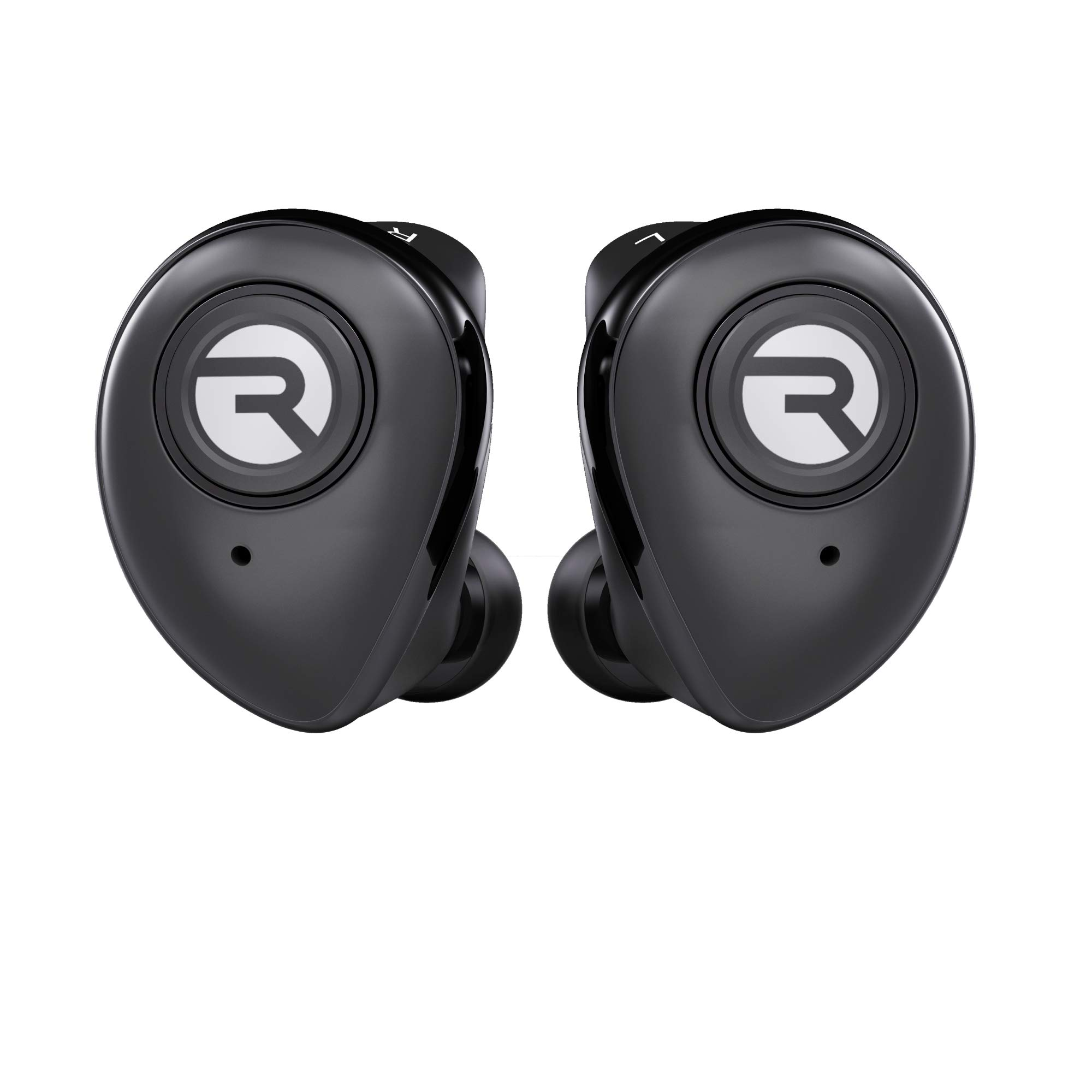 Raycon E50 True Wireless Bluetooth Headphones - Bluetooth Earbuds Bluetooth 5.0 Stereo Sound in-Ear Bluetooth Headset Wireless Earbuds 25 Hours Playtime and Built-in Microphone Black