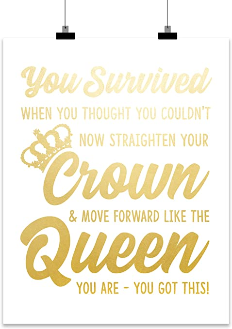 Inspirational Wall Print Gift for Your Daughter