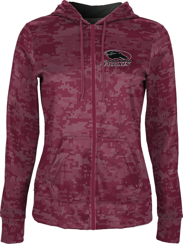 ProSphere Southern Illinois University Girls Zipper Hoodie Digi Camo School Spirit Sweatshirt