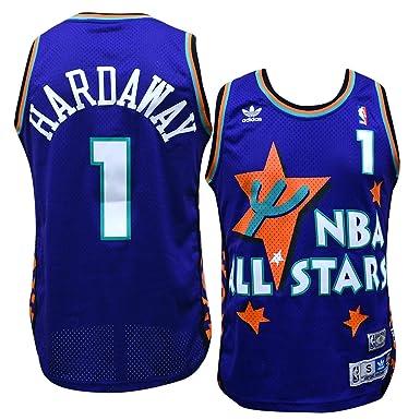 256b85cda9a NBA Jersey Orlando Magic Anfernee Penny Hardaway 1995 All Star Soul Adidas  Swingman ...
