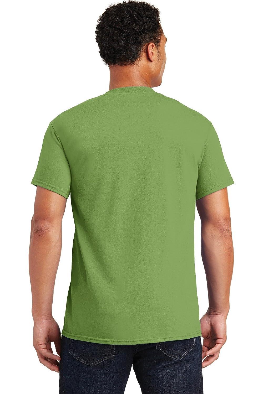 Kiwi Pack of 5 XL Gildan Mens Seamless Double Needle T-Shirt