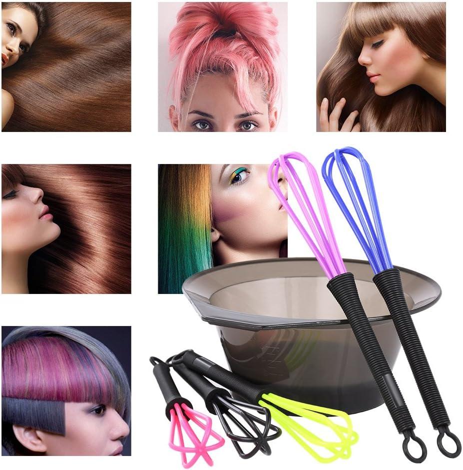 zroven 2 en 1 tinte para el cabello Bowl & Hair Whisk tinte ...