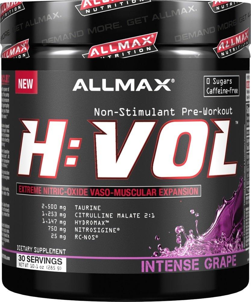 Allmax Nutrition H:VOL Intense Grape - 10.1 oz.