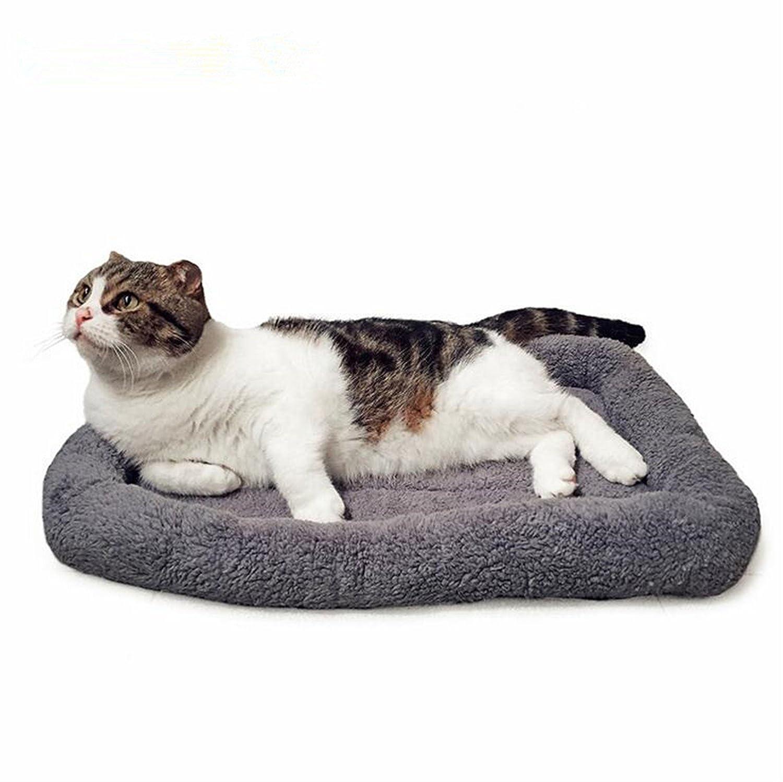 Zmal Camas para mascotas para perros pequeños, medianos y gatos Casas cálido suave forro polar, y parte inferior antideslizante, material duradero, ...