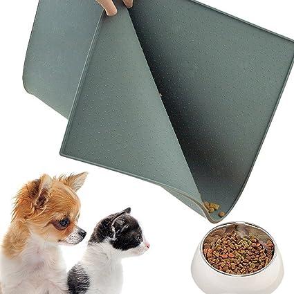Mantel Individual de Mascotas Alfombrilla para Alimentos para Mascotas FDA Alimentación de Grado de Silicona para