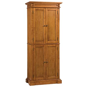 Amazoncom Home Styles 500469 Americana Pantry Storage Cabinet