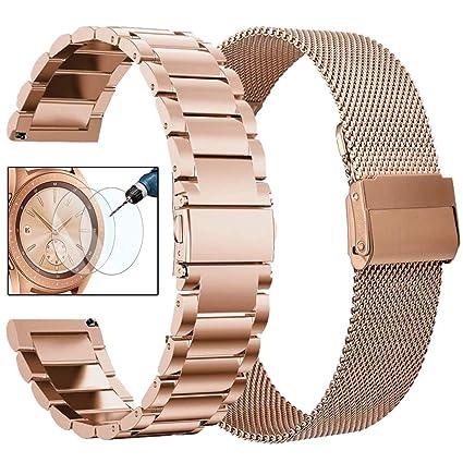 Amazon.com: CAGOS - Juego de correas para reloj Galaxy ...