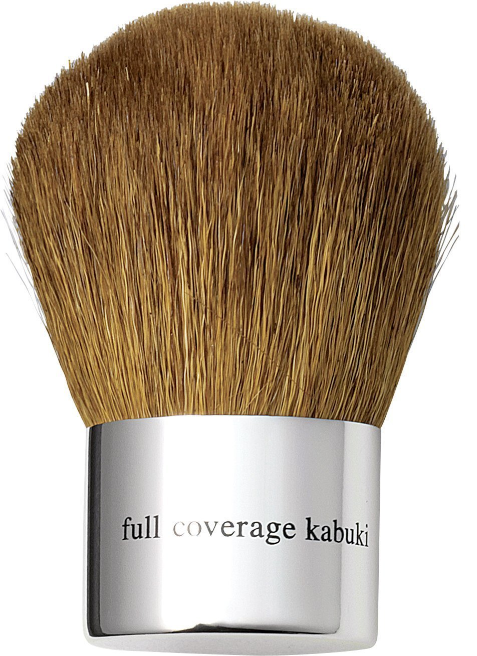 bareMinerals Bare Escentuals Full Coverage Kabuki Brush - Goat Hair - Small Enough To Fit Into Your Handbag - Lightweight Yet Perfect Application Of Loose Powders - Easy To Apply Full Cover Foundations - Hair Length 38mm