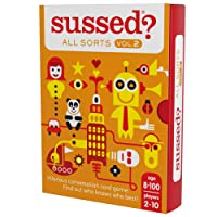 SUSSED All Sorts Vol.2 (Hilarious Family Friendly Conversation Card Game) (Find Out Who Knows Who Best)