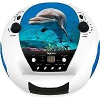 BigBen CD52DOLPHINMP3USB CD Player with Radio CD52 Dolphin