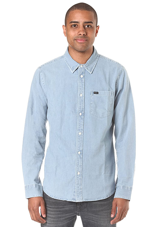 Herren Hemd lang RVCA Johnny Shirt LS