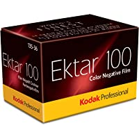 Kodak Professional Ektar 100 Color Negative Film (35mm Roll Film, 36 Exposures) - 6031330, Yellow