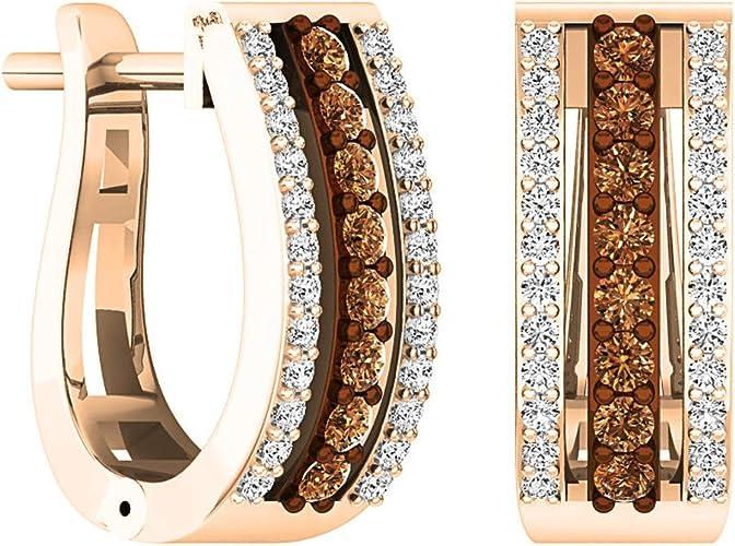 18K YELLOW GOLD SILVER BRANDY DIAMONDORABLES CHOCOLATE BROWN BELT DESIGN RING
