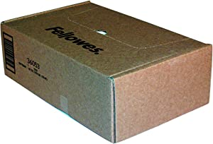 Fellowes 36053 Powershred Shredder Waste Bags for 90S, 99Ci, 99Ms, AutoMax 200C, and AutoMax 130C, 100 Bags, 9 Gallon