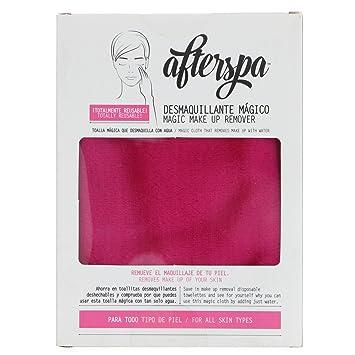 AfterSpa Magic Make Up Remover Reusable Cloth Pink 1 Cloth
