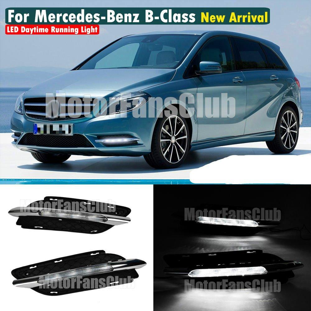 MotorFansClub Daytime Running Light LED DRL for Benz W246 B-Class ...