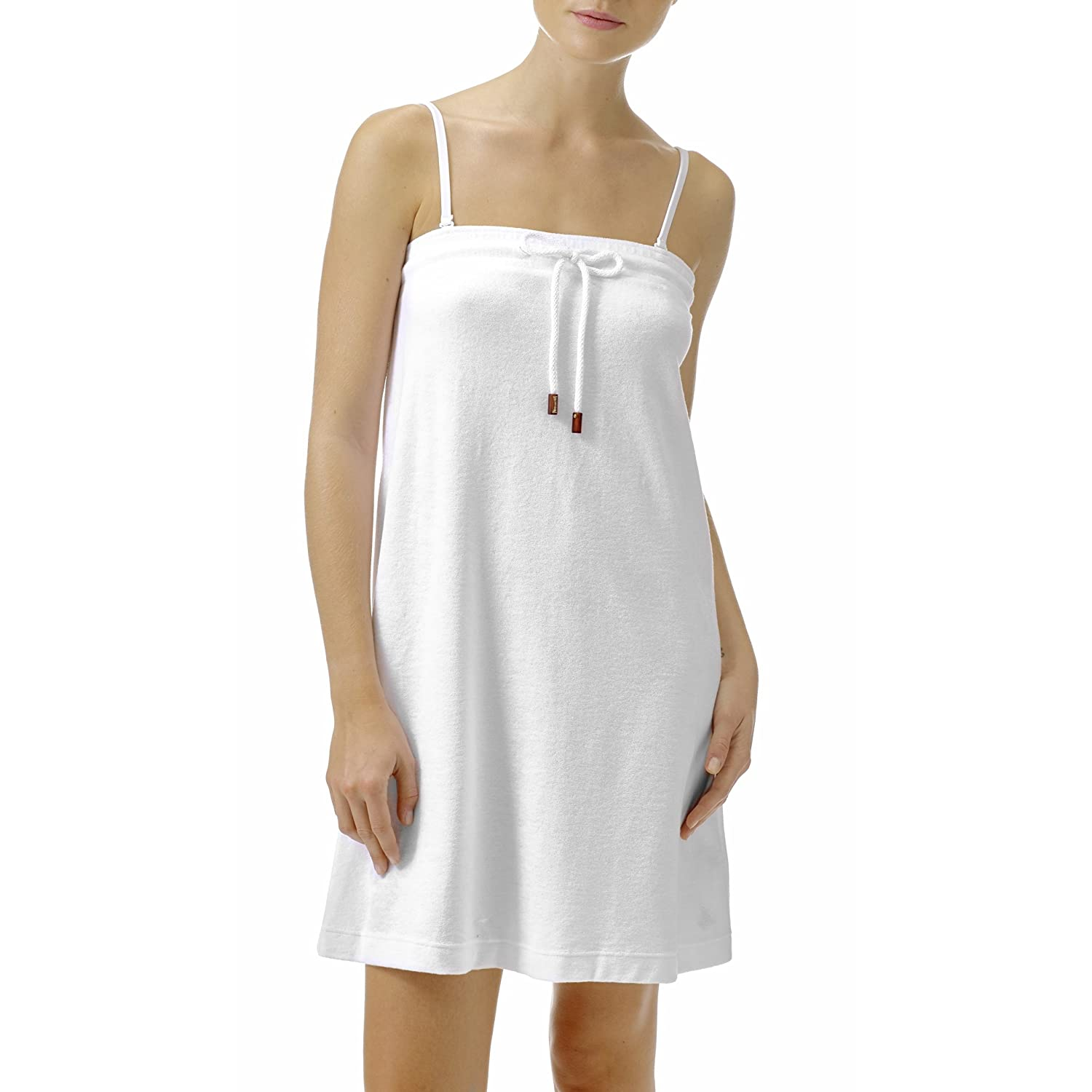 Vilebrequin Dress - Terry cloth knee strapless dress Women