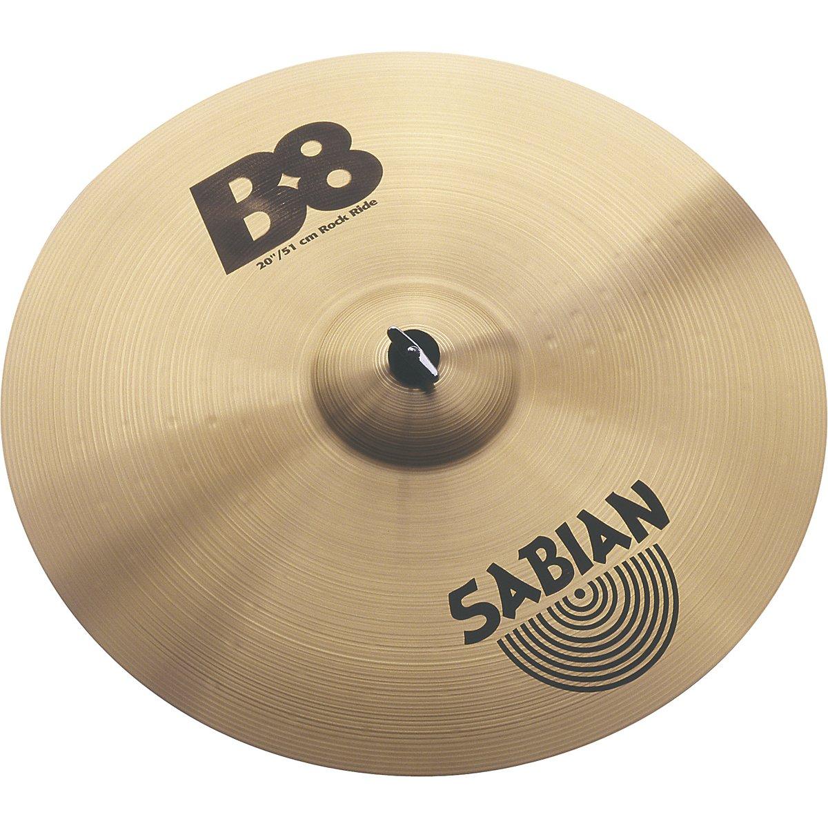 Sabian 20-inch Rock Ride B8 Cymbal Sabian Inc. 42014