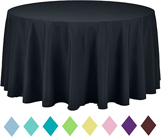 Light Pink Plastic Tablecover Tablecloth Banquet Solid Color Baby Shower Party