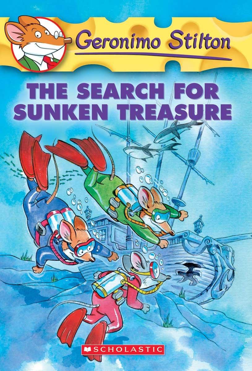 The Search For Sunken Treasure (Turtleback School & Library Binding Edition) (Geronimo Stilton)