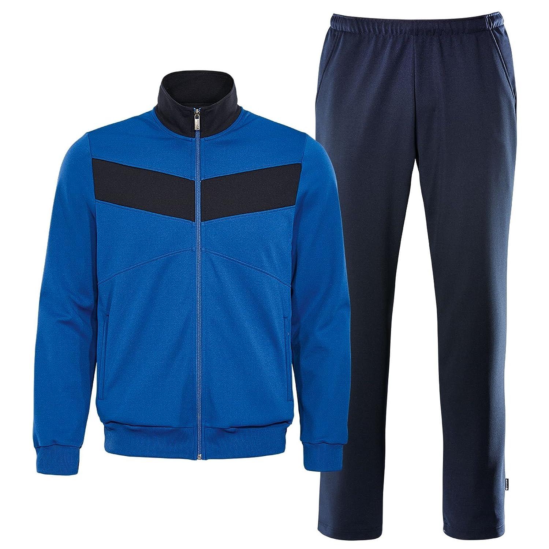 schneider sportswear Herren Freizeit Trainings Anzug JONAHM blau