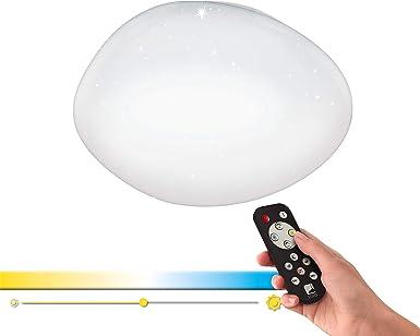 Dimmbare DEL Plafonnier Lampe environ Ø 42 cm blanc étoile ciel effet-Salon Lampes