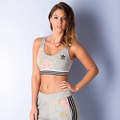 adidas pastel rose bra top