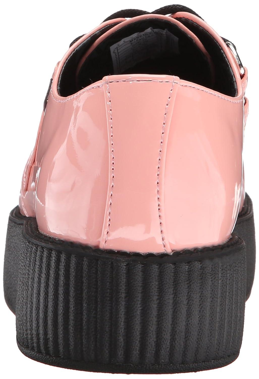 T.U.K. Shoes Peachy Pink Patent Viva High Creeper EU38 / UKW5 xLqKgnPY
