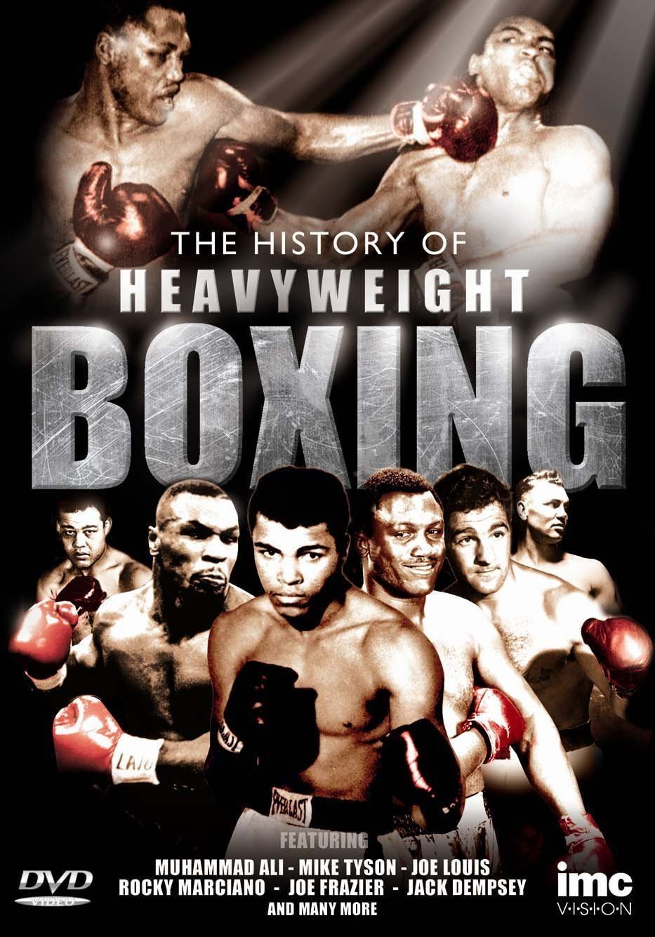 Amazon com: The History of Heavy Weight Boxing Featuring