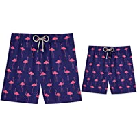 STIVALI Father and Son Matching Swim Trunks