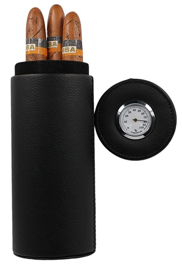 Amancy Travel Leather Cigar Case