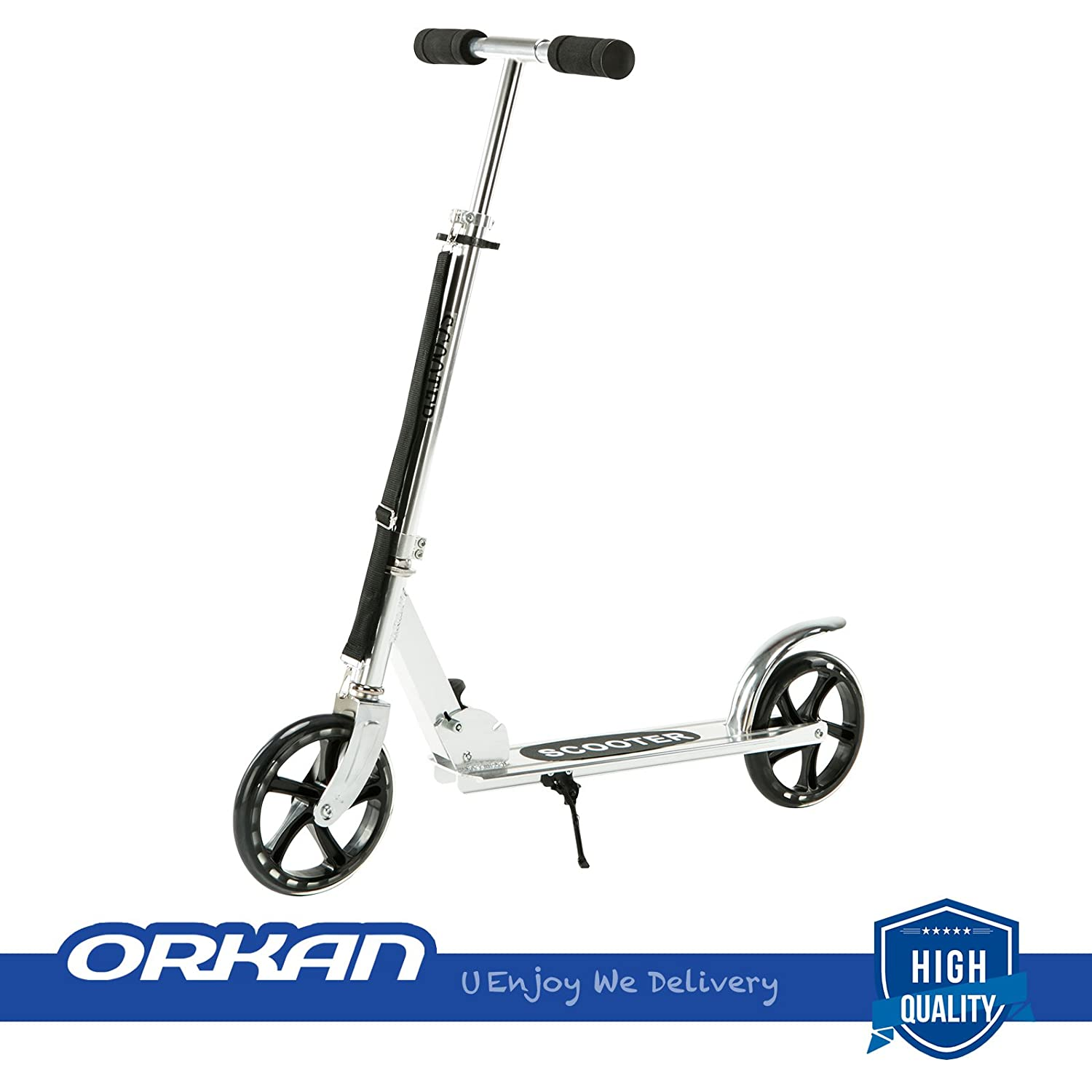 ORKAN Folding Kick Scooter for Kid/Adult 2 Wheels Scooter