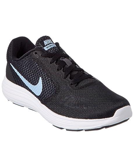 competitive price 17efd 7fb13 Nike 819303, Scarpe da Ginnastica Basse Donna, Multicolore  (Black/Aluminum/Anthracite