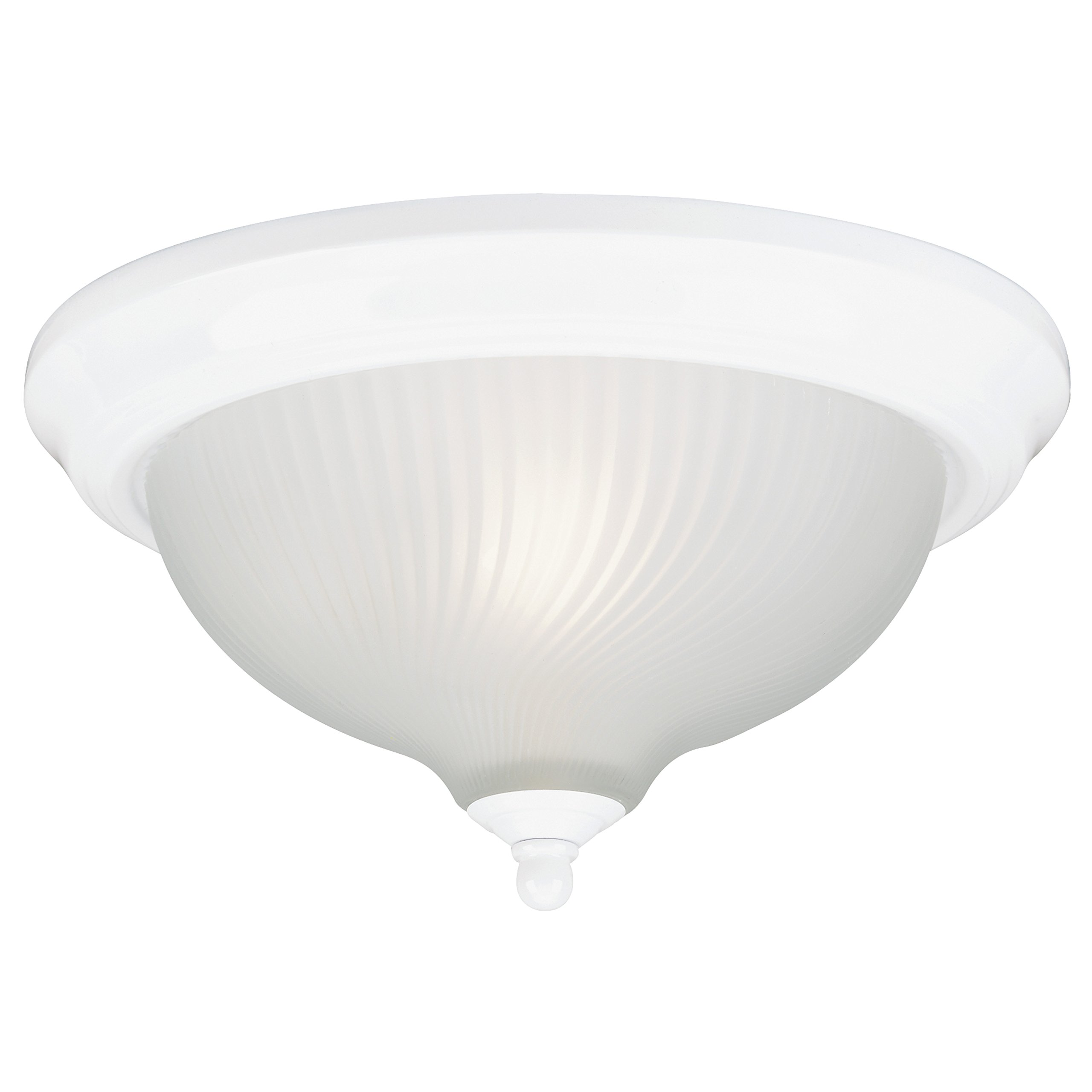 Westinghouse Lighting  66378 Corp 11-3/4-Inch Ceiling Fixture, White