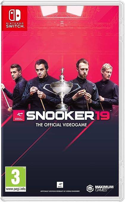 Snooker 19: The Official Video Game: Amazon.es: Videojuegos