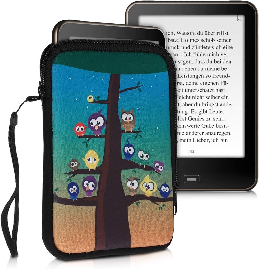 para eReader Mariposa y Torre Eiffel kwmobile Funda Compatible con  Kindle Paperwhite para Modelos hasta el 2017