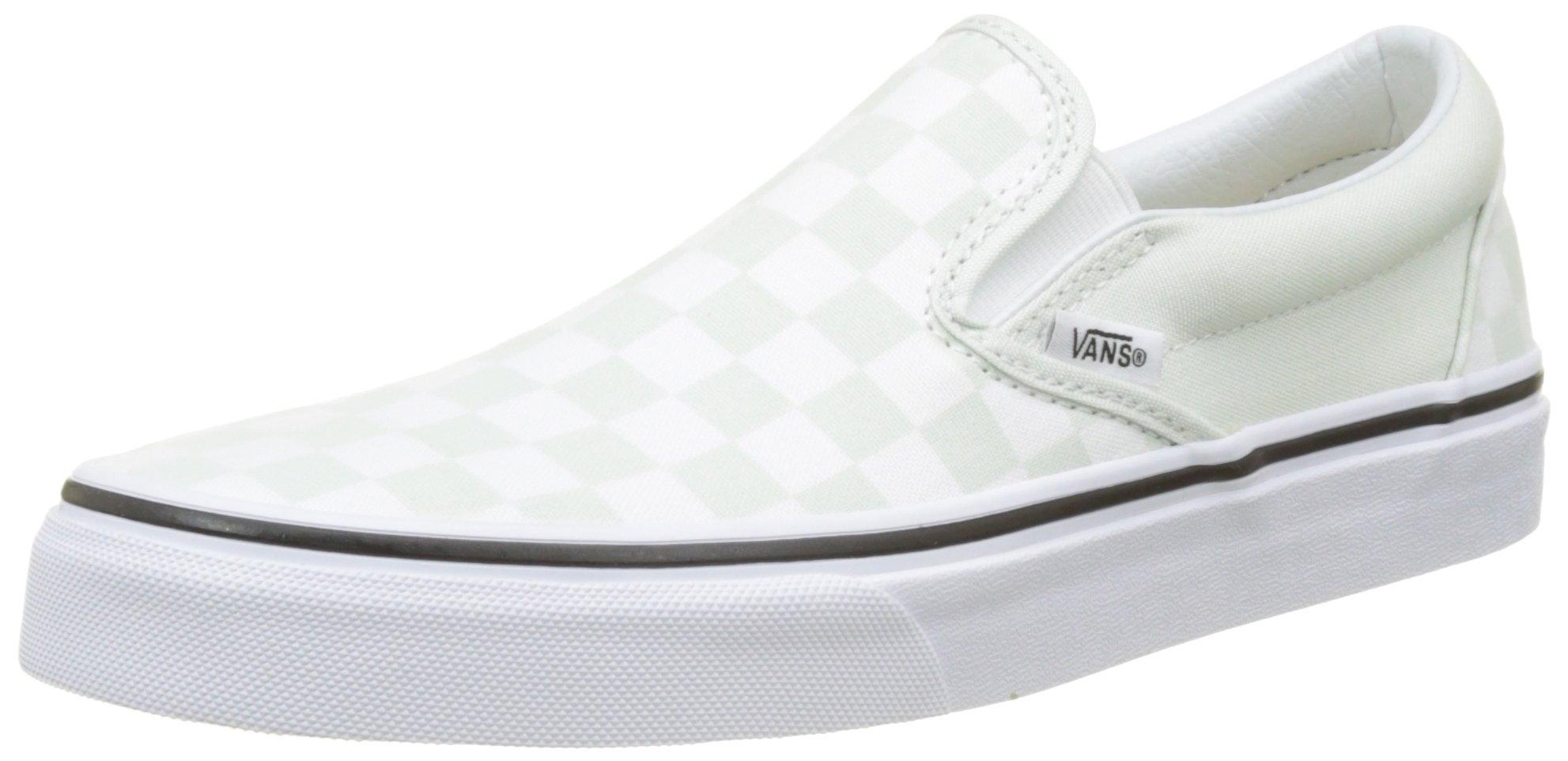 Vans Unisex Checkerboard Blue Flower/True White Slip-On - 7