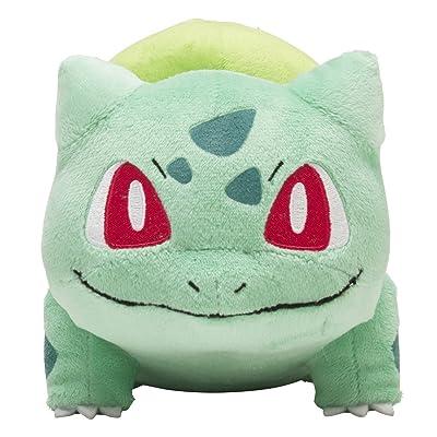Pokemon Center Original (5.25-Inch) Poke Plush Doll Bulbasaur (Fushigidane): Toys & Games [5Bkhe1804006]