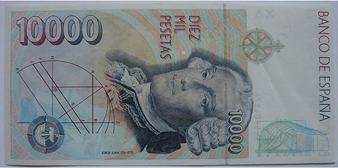 Billete 10000 Pesetas - España 1992: Amazon.es: Juguetes y juegos