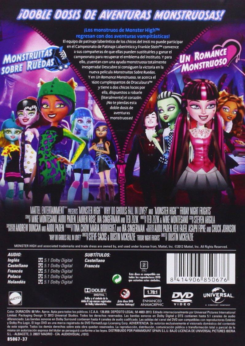 Amazon.com: Pack Monster High: Monstruitas Sobre Ruedas + Un ...
